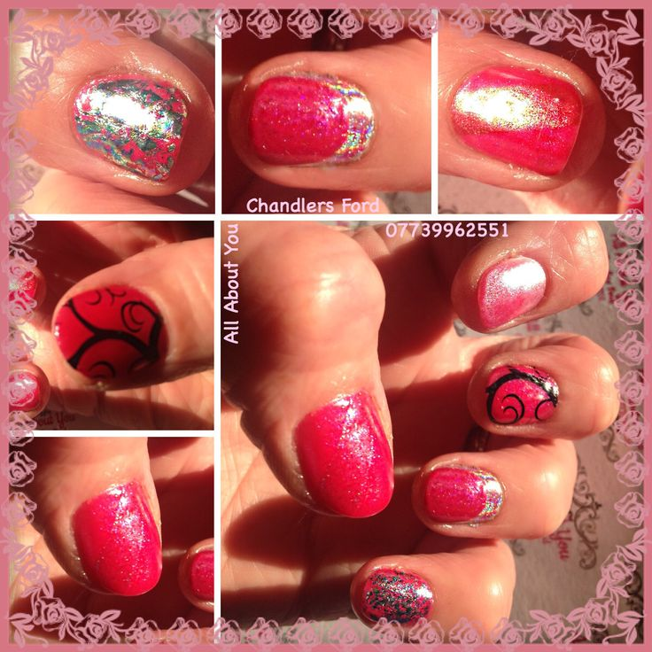 Waking up with your nails on point #gel #stamping #unicorn #oilslickfoil  #alamode #cuffnails