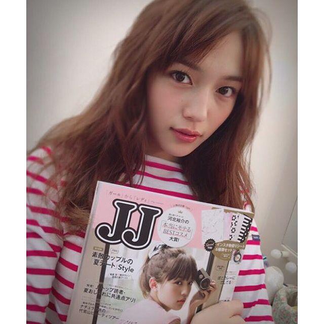 * #川口春奈 #はーちゃん #JJ #9月号 #haruna