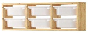 TROFAST Wall storage - modern - Toy Storage - IKEA