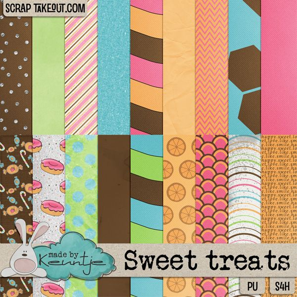 Sweet treats papers http://scraptakeout.com/shoppe/-Made-By-Keuntje/