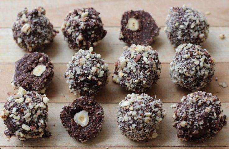 Healthier Ferrero Rochers — Healthy Always