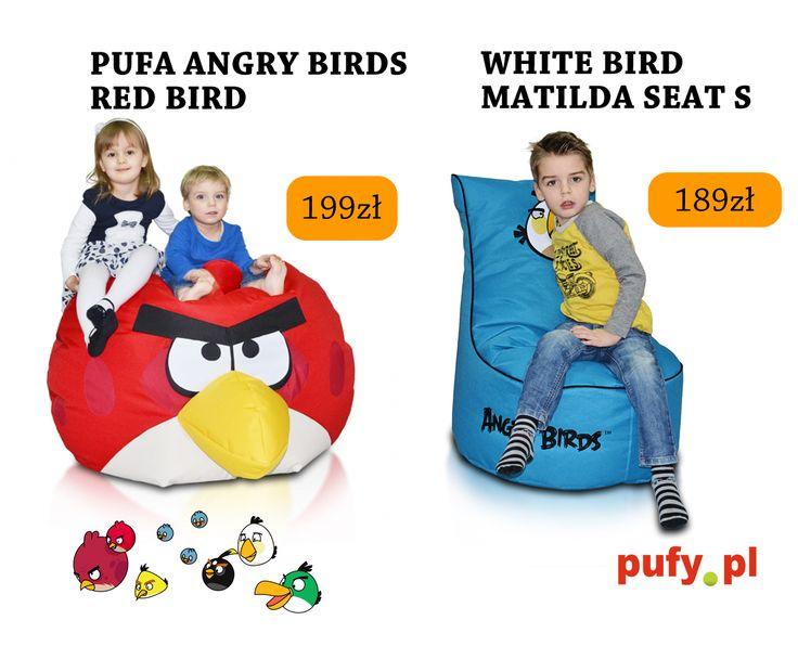 Super, że świetnie znacie świat Angry Birds. Konkurs trwa co prawda, nie z naszymi bohaterami a z równie wygodną piłką - świetnym prezentem dla każdego. A tymczasem prezentuję nasze wygodne #pufy Birdsów. Chcecie wiedzieć co za niedługo będzie ?:)  http://pufy.pl/55-angry-birds  #pufa #pufapiłka #pufadladziecka #pufy #pufydosiedzenia #pufysako #woreksako #poduchydosiedzenia #meblerelaksacyjne #fotel #fotelemłodzieżowe #fotelesako
