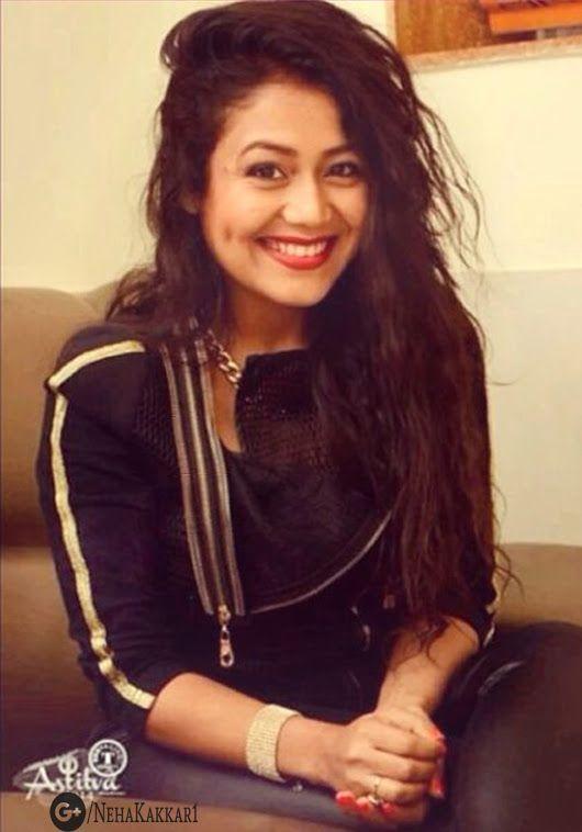 Beautiful Cute #Nehearts Neha Kakkar Hot Cute Picture