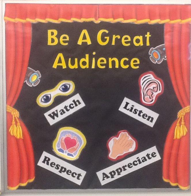 My Audience Behavior bulletin board 2013-2014