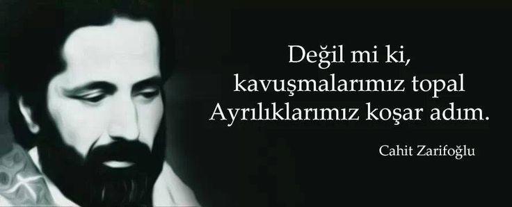 #CahitZarifoğlu #ZarifAdam ...
