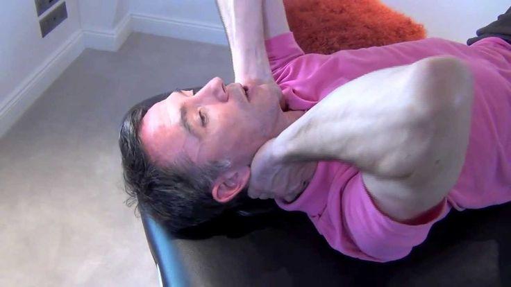 Automassage du cou