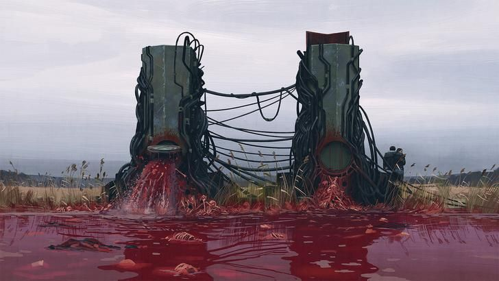 Simon Stålenhag - things from the flood | Creepy art, Futuristic art,  Concept art