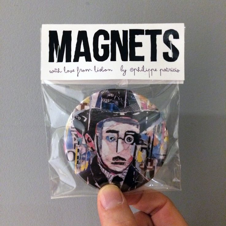 NEW MAGNETS AVAILABLE! // small edition by the artist // high quality magnets Ø 7,6cm // ©philippe patricio / all rights reserved