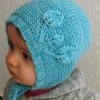 Petites Feuilles Bonnet - via @Craftsy