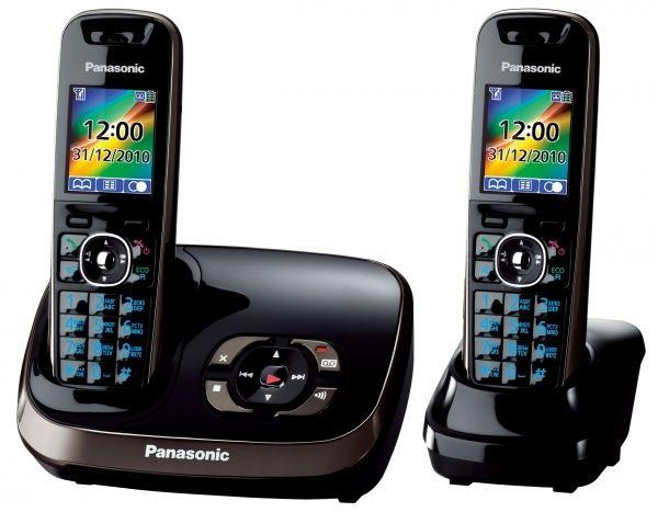 Беспроводной телефон DECT Panasonic KX-TG8522RUB (нажмите, что бы увеличить фото)
