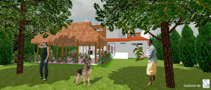 Casa G+A: Zona de cultivos / G+A House: crops area