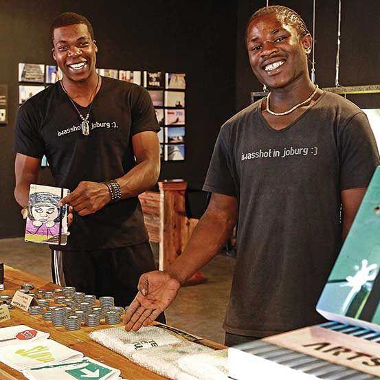Maboneng Precinct :: I was shot in Joburg :: Arts on Main, 264 Fox street, Johannesburg.