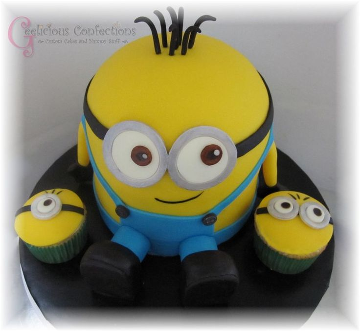 7 best Minions images on Pinterest Birthday party ideas Cake