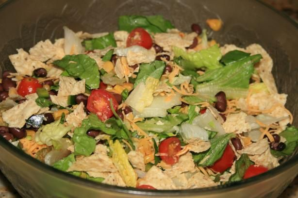Southwest Salad recipe ... supposed to be a copycat for McDonalds