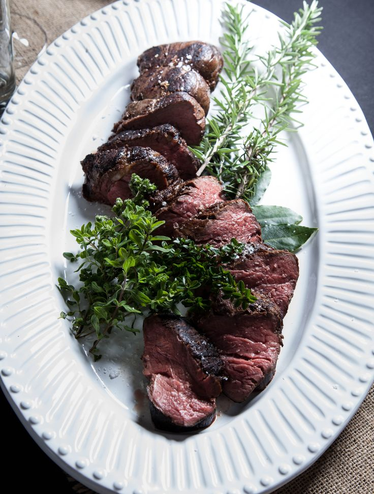 Scotch beef cooked on the bone with Abbeville Herbs