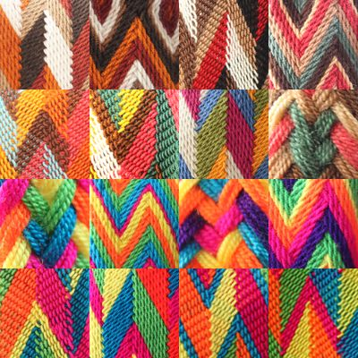 Unique patterns #wayuu #mochila www.chabelis.nl