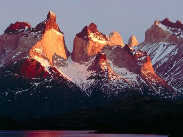 Las Torres Del Paine.-