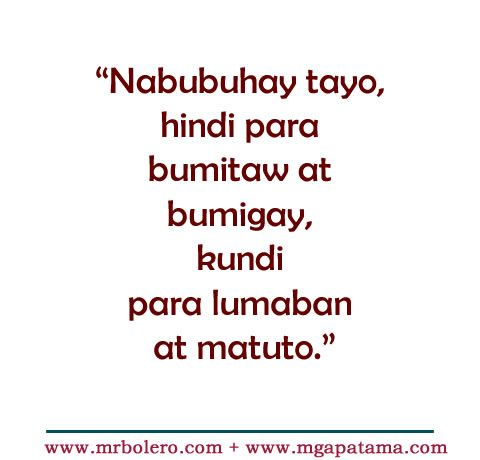 Patama Quotes – Tanga  love tagalog quotes