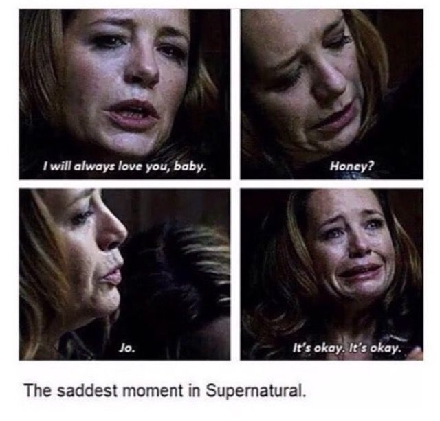 Just one of the most saddest moments in spn