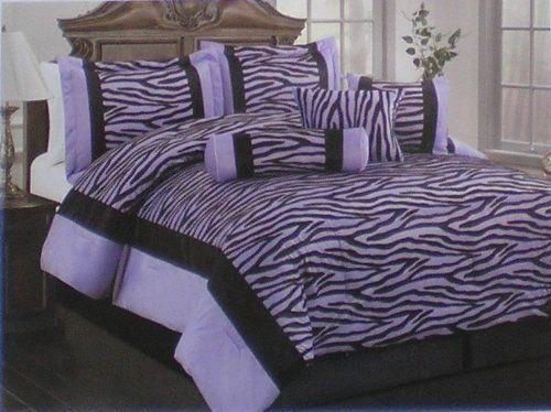 31 Best Purple Zebra Bedroom Images On Pinterest