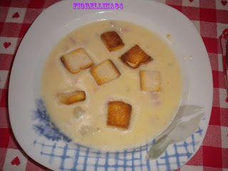 Le Delizie di Fiorellina84: Zuppa di patate con pancetta e crostini