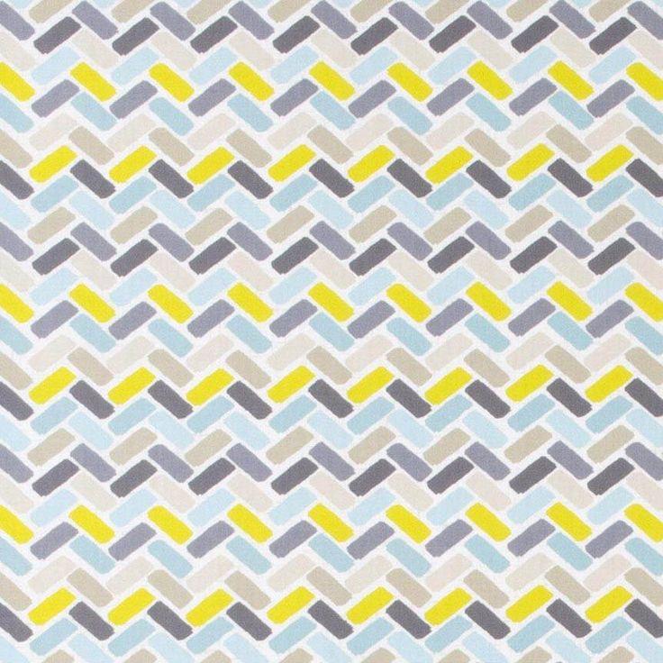 Warwick Fabrics : WAIMALU, Colour LAGOON