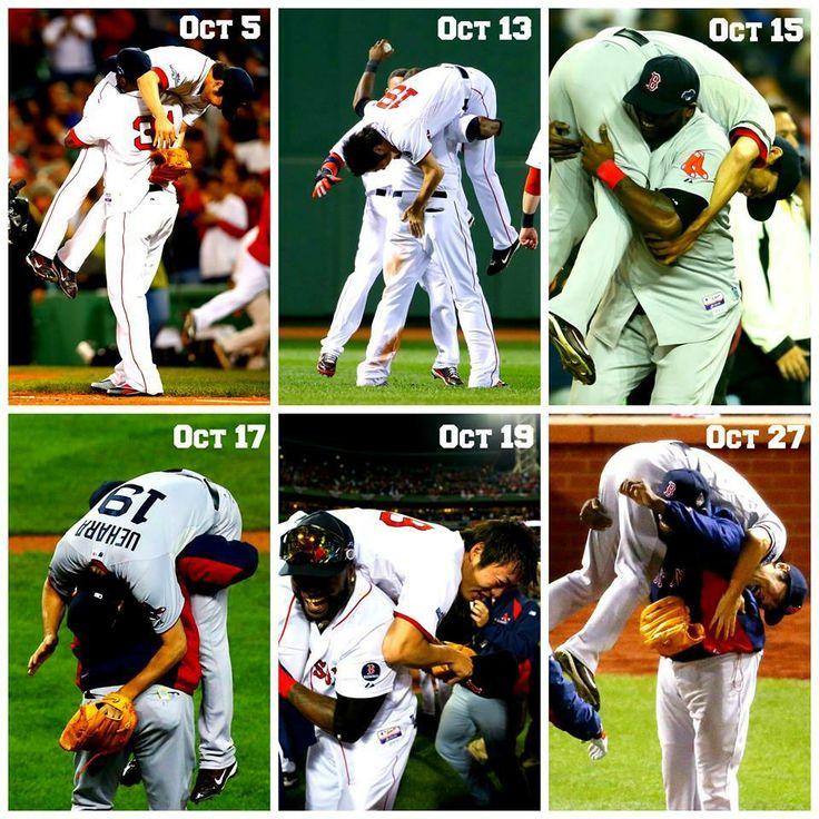 Celebration...!!!  @ 2013 World Series.