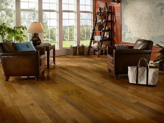Hickory Hardwood Flooring Brown Eamv5vs By Bruce