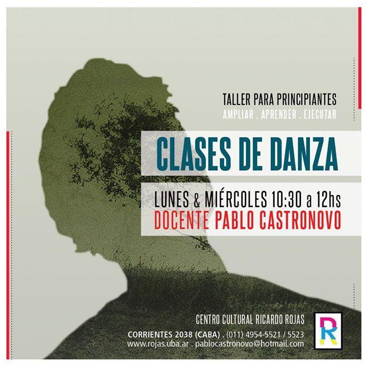 Flyer para Danza