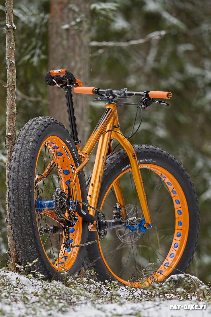 """oldklein: """"Salsa Mukluk 2014, size XS. fat-bike.fi """""""