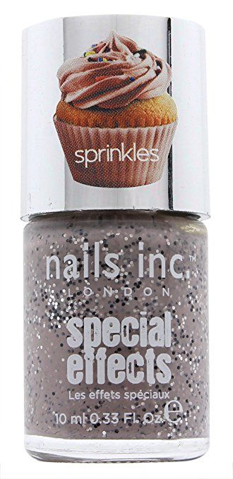 Nails Inc. Special Effects Sprinkles Nail Polish .33 Oz Sugar House Lane Review