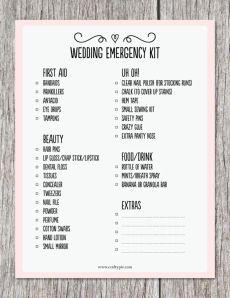 Personal Attendant checklist!