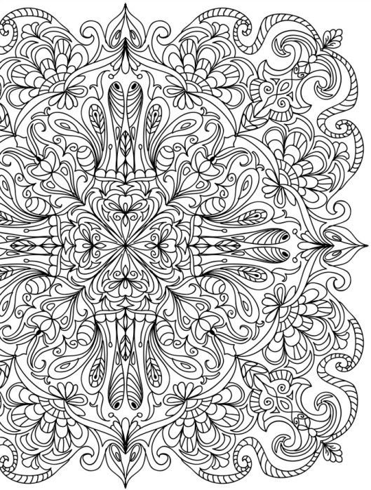 19 best Colorir images on Pinterest Mandalas Coloring books and