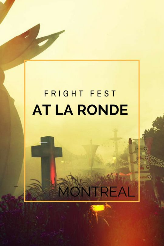 Fright Fest at La Ronde, Montreal, Quebec, Canada