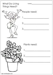 Free worksheets - Living and Non Living Things Worksheets ...