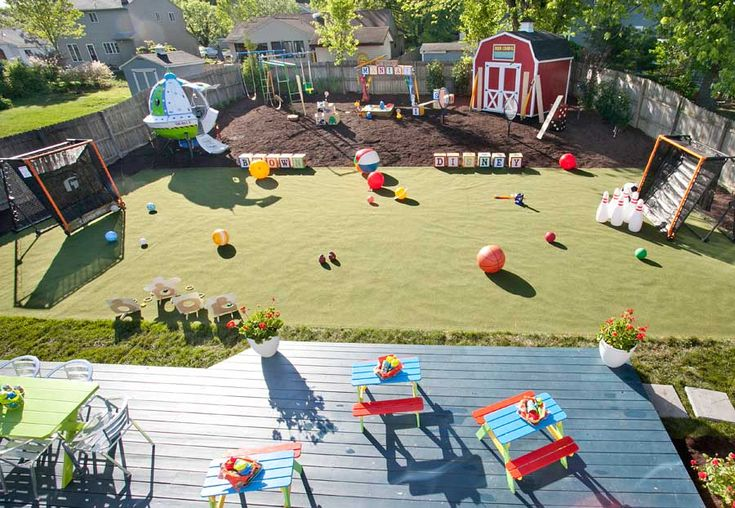 a Backyard Makeover Inspired by Toy Story Mania and Disney's All-Star Sports Resort on HGTV's 'My Yard Goes Disney'