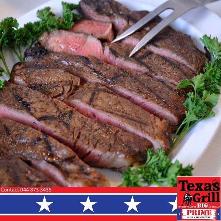 Origin of the name sirloin steak?  Legend has it that England`s King Henry VIII was so impressed with this type of meat, he dubbed it Sir Loin. The more likely source of the name is that it came from the French word SURLONGE (sir-lawn), which literally means over the loin. #texasgrill #george #steakhouse