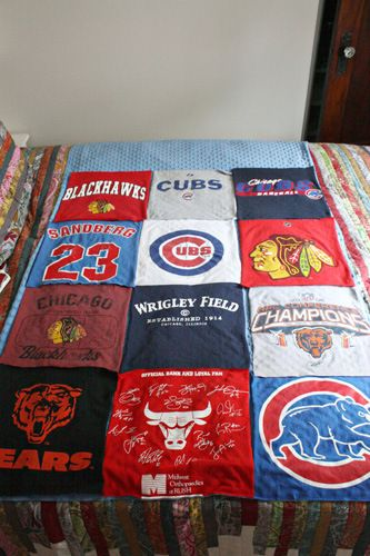T shirt blanket tutorial...for all my concert tees!