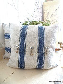 #pillow   système d'attaches avec corde ♥