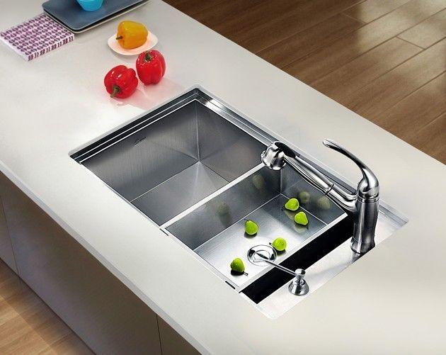 90 best Kitchen Sinks images on Pinterest | Kitchen sinks, Bowls ...