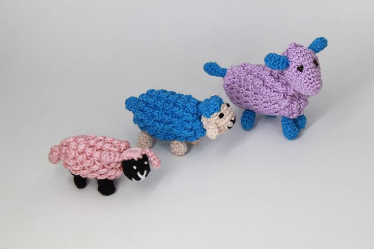 Excited to share the latest addition to my #etsy shop: Crochet sheep Crochet toy Flock of sheep #accessories #crochetsheep #sheep #handmadetoy