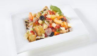 Salade Panzanella au Le Moine | .recettes.qc.ca