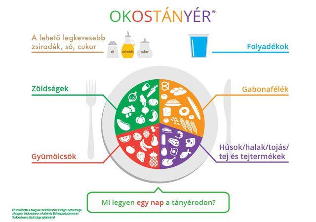 Aminek egyébként az Okostányér nevet adták. Nézze meg, mi kell 2016-ban a kiegyensúlyozott táplálkozáshoz.