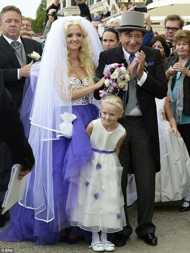 Austrian billionaire Richard Lugner has found true love at last #dailymail