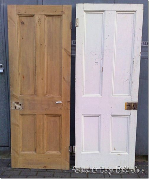 How to Strip Paint Off a Door the Right Way