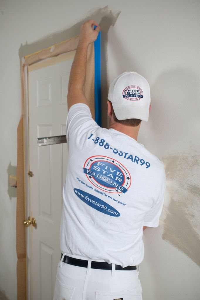 Painting Tape Five Star Painting Doorway Interior Design House Painting House