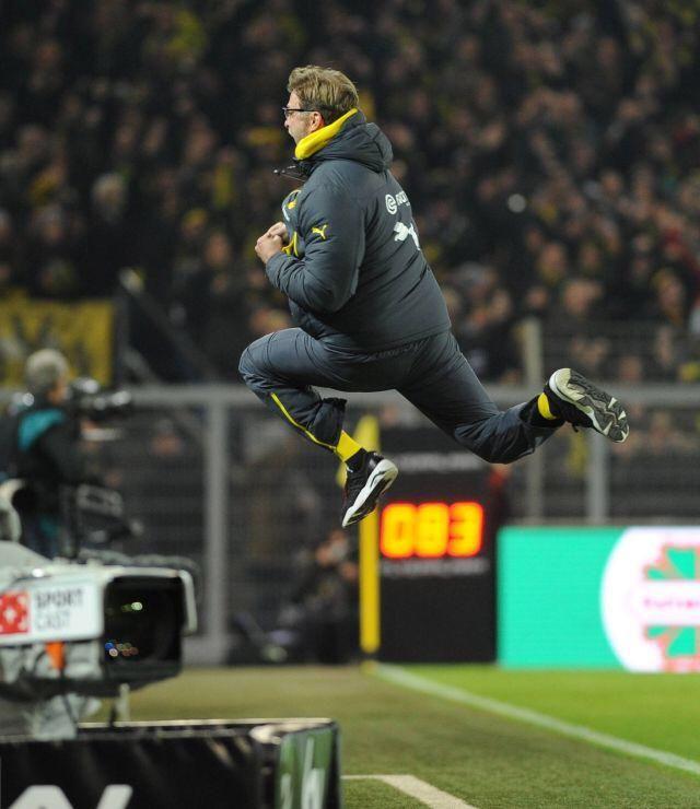 "Not sure if Jurgen Klopp or Michael Jordan""@SanBorussia: Jump! #BVB """