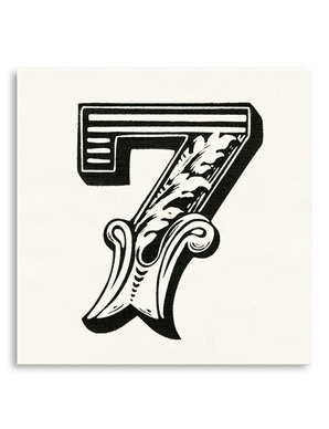 Lucky 7 tattoo designs images for Number 7 tattoo gallery