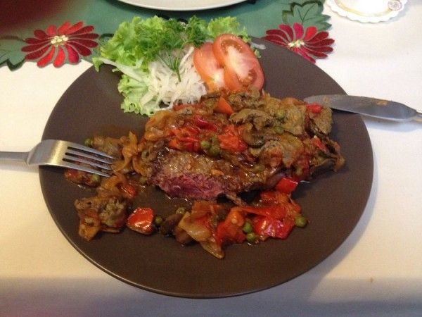 Hungarian beef filet treatment