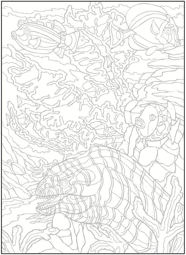 e design scapes coloring pages - photo#14